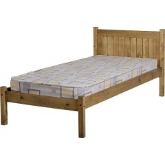 Seconique Maya Pine Bed  - Solid Waxed Pine - 3ft Single
