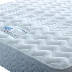 Edwin & Taylor Pure Platinum 1800 Pocket Spring Memory Foam Mattress 3ft 4ft 4ft6 5ft 6ft